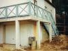 Drewniana balustrada balkonowa
