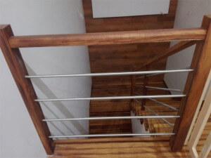 Sapellii schody - zakład Modrzew