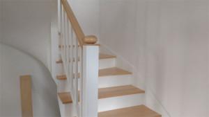 Zakład stolarski Modrzew - Bukowe schody
